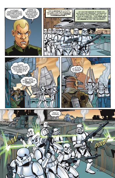 Page 4 Star Wars - Icones tome 2 - Leia Organa
