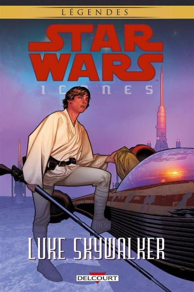 Couverture Star Wars - Icones tome 3 - Luke Skywalker