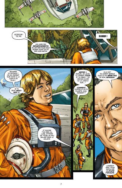 Page 3 Star Wars - Icones tome 3 - Luke Skywalker