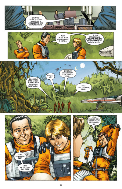 Page 4 Star Wars - Icones tome 3 - Luke Skywalker