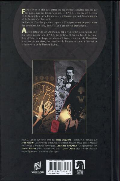 Dos B.P.R.D. l'enfer sur terre tome 5