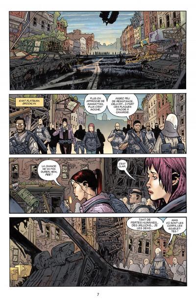 Page 1 B.P.R.D. l'enfer sur terre tome 5