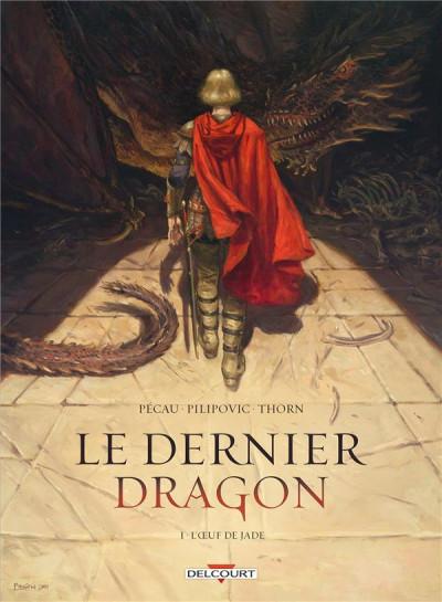 Couverture Le dernier dragon tome 1