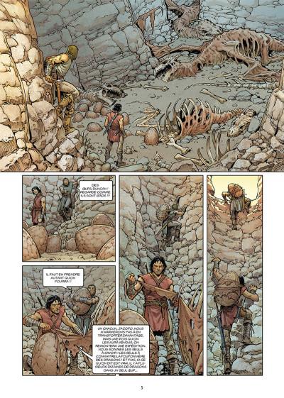 Page 3 Le dernier dragon tome 1