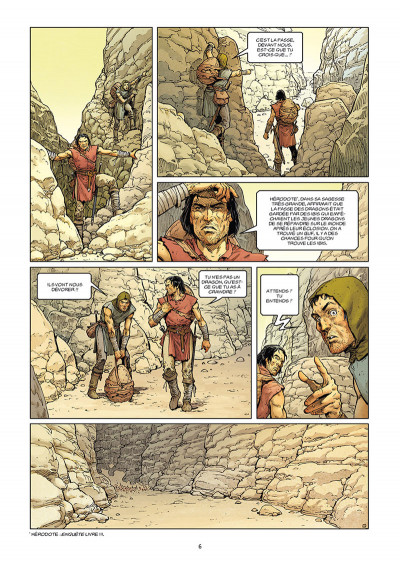 Page 4 Le dernier dragon tome 1