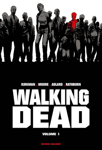 Couverture Walking dead - prestige tome 1
