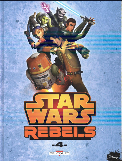Couverture Star Wars - Rebels tome 4
