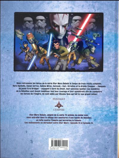 Dos Star Wars - Rebels tome 4