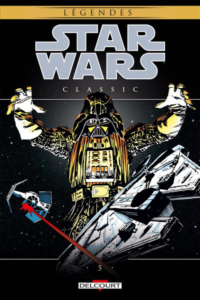 Couverture Star Wars - classic tome 5