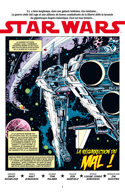 Page 1 Star Wars - classic tome 5
