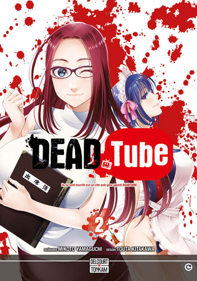 Couverture Dead tube tome 2