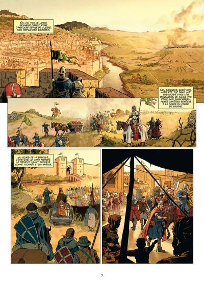 Page 1 Les reines de sang - Constance d'Antioche tome 1