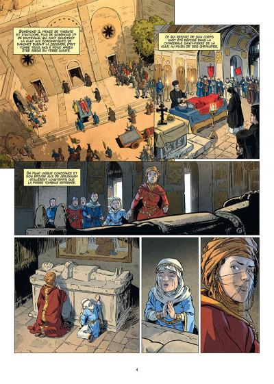 Page 2 Les reines de sang - Constance d'Antioche tome 1