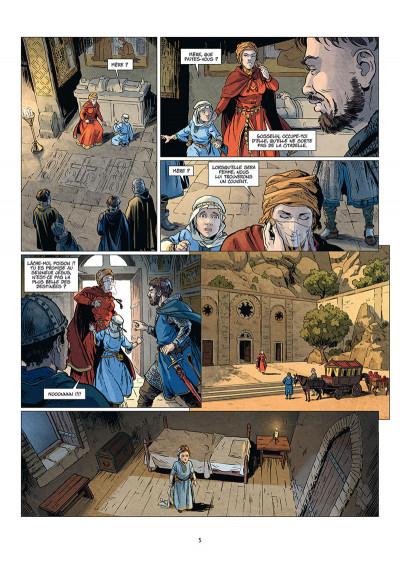 Page 3 Les reines de sang - Constance d'Antioche tome 1