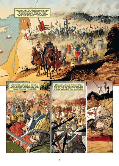 Page 4 Les reines de sang - Constance d'Antioche tome 1