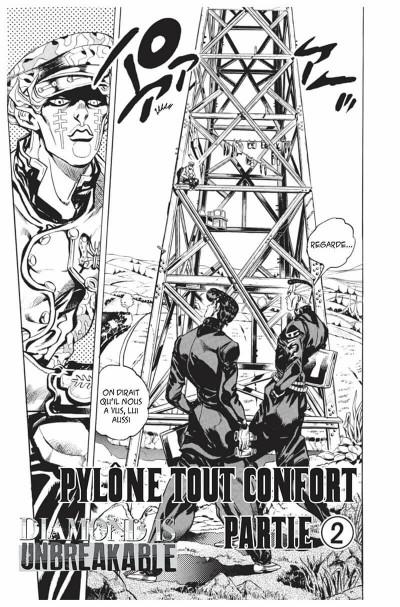 Page 6 Jojo's bizarre adventure - Diamond is unbreakable tome 15