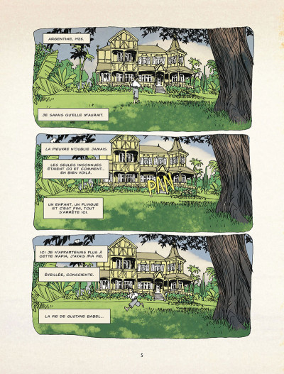 Page 1 La malédiction de Gustave Babel