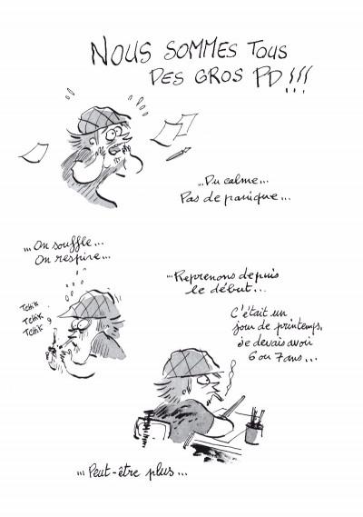 Page 1 Les carnets secrets de Guillaume Bianco tome 2