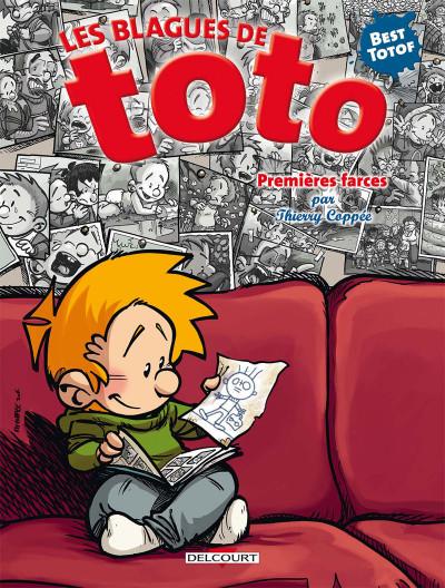 Couverture Les blagues de Toto - HS - Premières farces