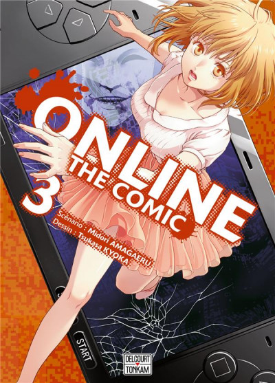 Couverture Online the comic tome 3