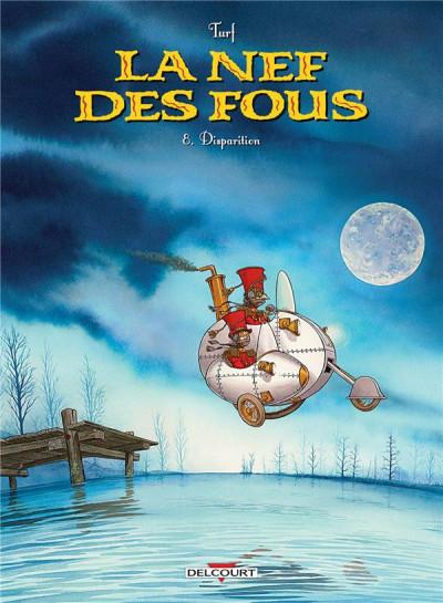 Couverture La nef des fous tome 8 + ex-libris offert