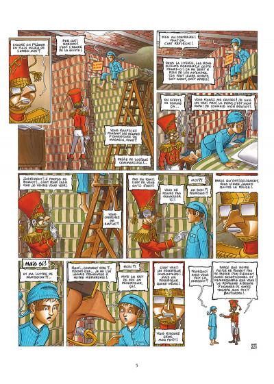 Page 3 La nef des fous tome 8 + ex-libris offert