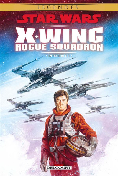 Couverture Star Wars - X-Wing rogue squadron - intégrale tome 1