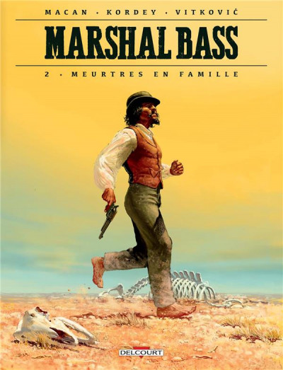 Couverture Marshal Bass tome 2