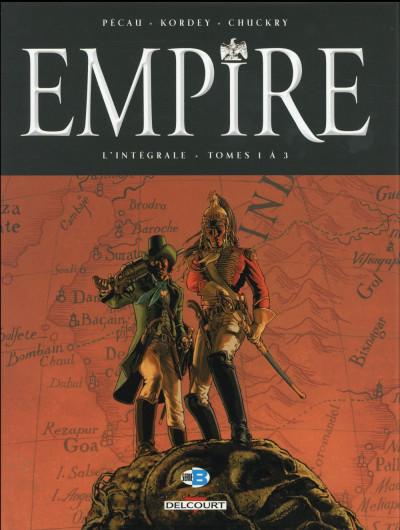 Couverture Empire - intégrale tomes 1 à 3