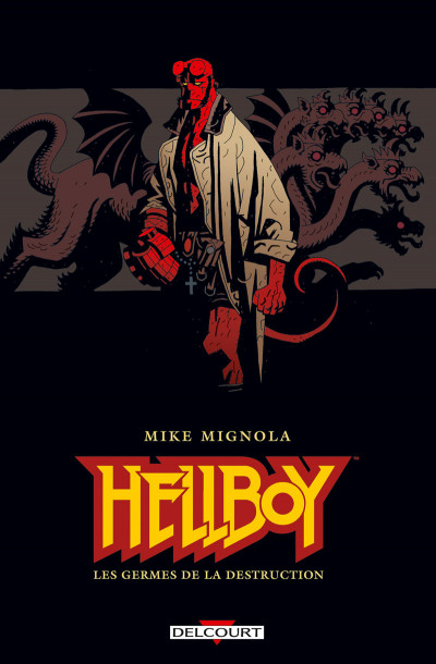 Couverture Pack Hellboy tome 1 + B.P.R.D. tome 1
