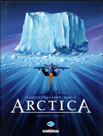 Couverture Arctica -  intégrale tomes 1 à 3