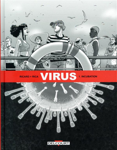 Couverture Virus tome 1