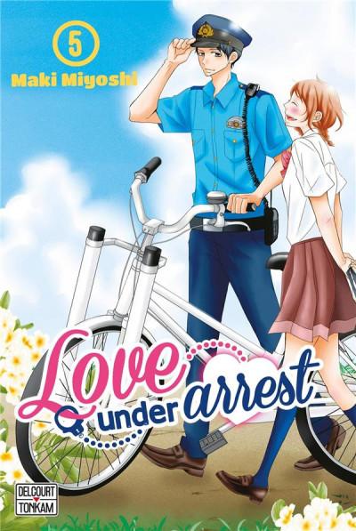 Couverture Love under arrest tome 5