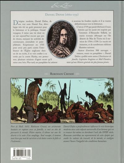 Dos Robinson Crusoé de Daniel Defoe - Intégrale tomes 1 à 3