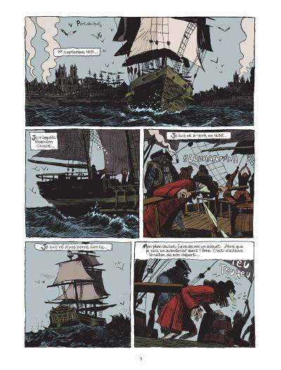 Page 1 Robinson Crusoé de Daniel Defoe - Intégrale tomes 1 à 3