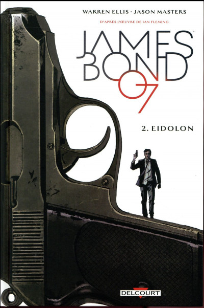 Couverture James Bond tome 2
