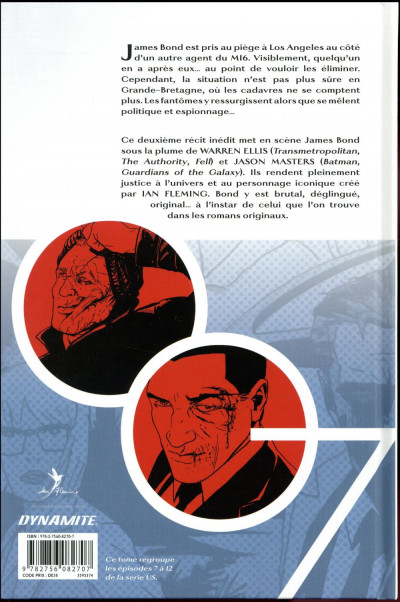 Dos James Bond tome 2