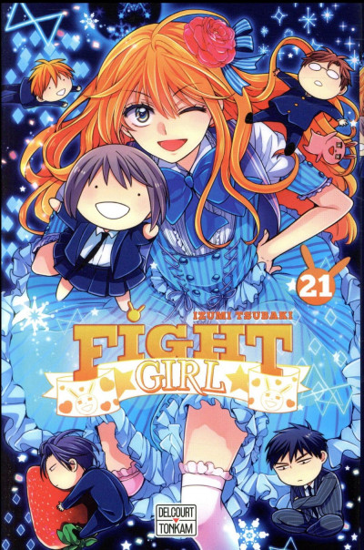 Couverture Fight girl tome 21
