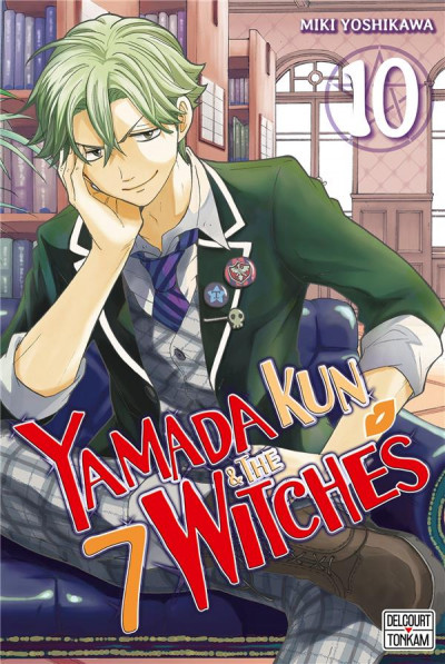 Couverture Yamada Kun & the 7 witches tome 10