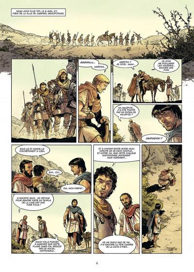 Page 4 Les reines de sang - Les trois Julia tome 1