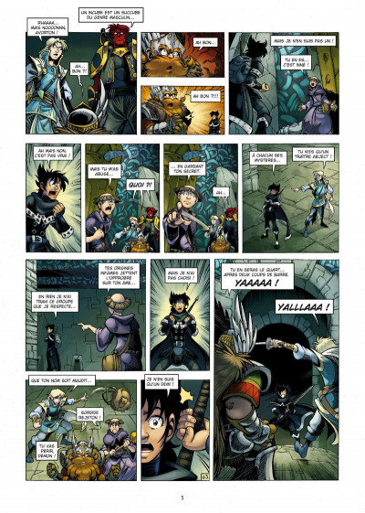 Page 3 Reflets d'acide tome 5