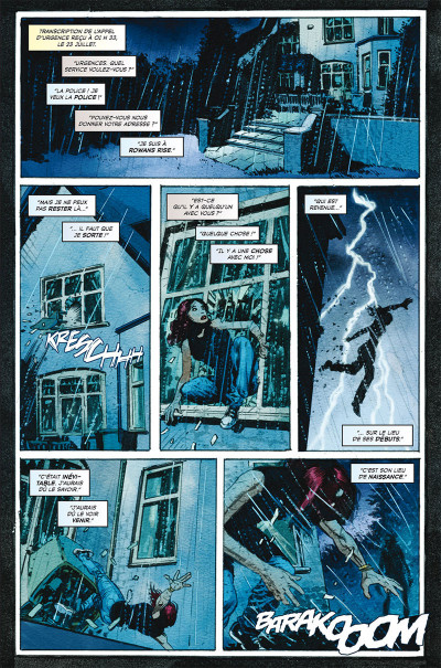 Page 1 La malédiction de Rowans
