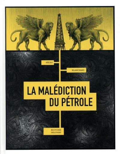 Couverture La malédiction du pétrole + ex-libris offert