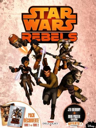Couverture Star Wars - Rebels - Fourreau tome 1 et tome 2