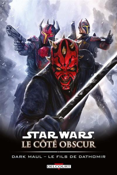 Couverture Star Wars - le côté obscur tome 15 - Dark Maul, le fils de Dathomir