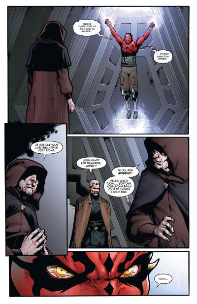 Page 2 Star Wars - le côté obscur tome 15 - Dark Maul, le fils de Dathomir