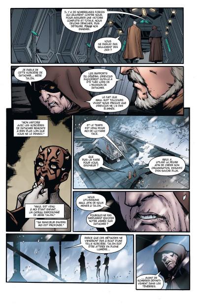 Page 3 Star Wars - le côté obscur tome 15 - Dark Maul, le fils de Dathomir