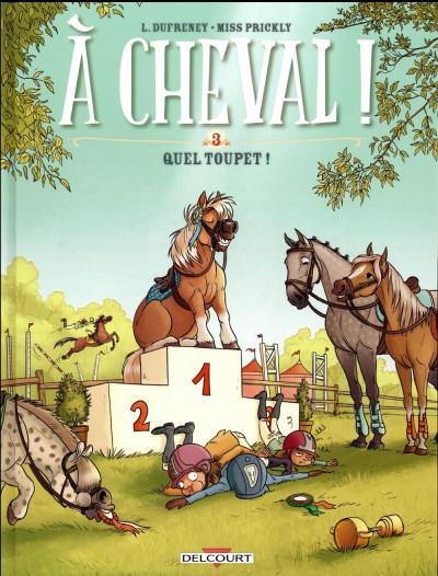 Couverture À cheval ! tome 3