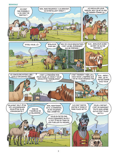 Page 1 À cheval ! tome 3