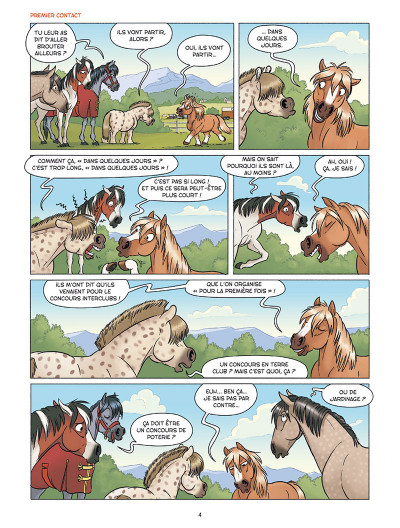 Page 2 À cheval ! tome 3